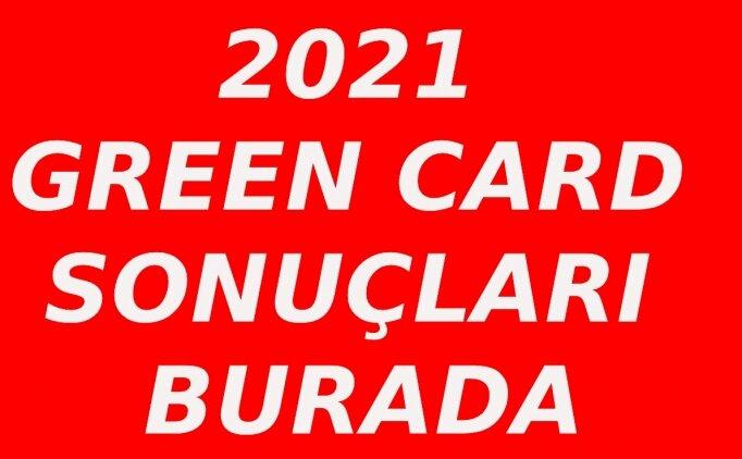 Green Card 2021 başvuru sonuçları ekranı