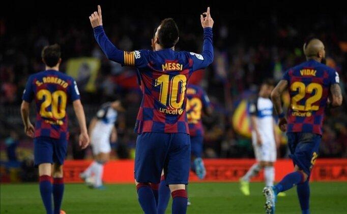 Courtois: 'Messi benim için sıradan bir futbolcu'