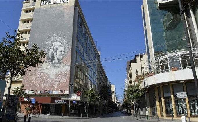 Lübnan'da Kovid-19 nedeniyle kısmi sokağa çıkma yasağı