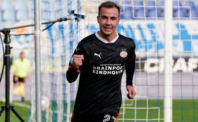 Götze, PSV'de açılışı 9 dakikada yaptı!
