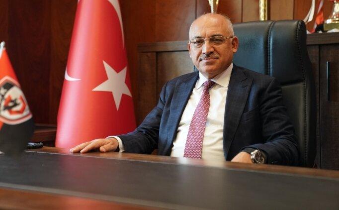 Gaziantep FK Başkanı Mehmet Büyükekşi: 'Görevimin başındayım'