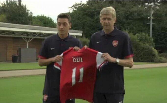 Wenger'e göre Özil'in oynamama nedeni sportif değil
