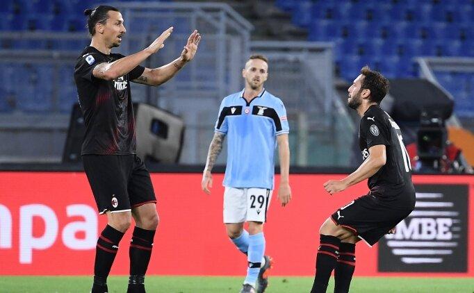 Hakan attı, Milan Lazio'yu parçaladı!