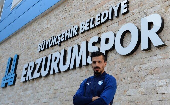 'Erzurumspor'dan Avrupa'ya transfer olmak istiyorum'