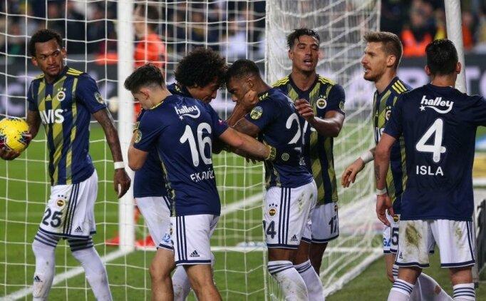 Fenerbahçe'de 'tarihi' tablo!