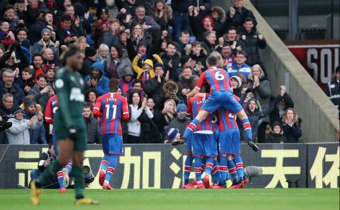 Crystal Palace tek golle kazandı; Cenk Tosun...