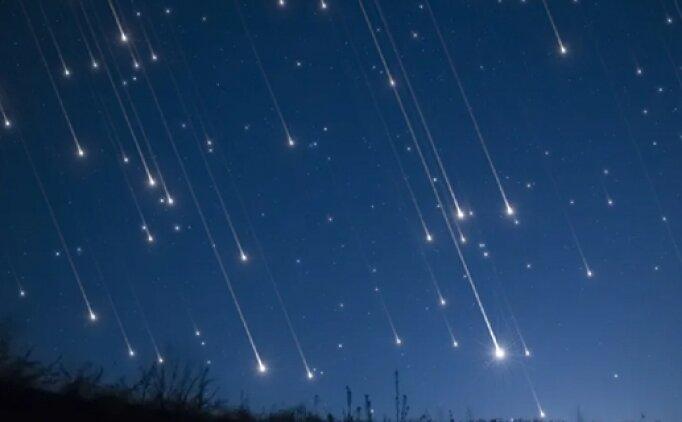 Meteor mu düştü, nereye düştü? İşte meteor düşme görüntüsü