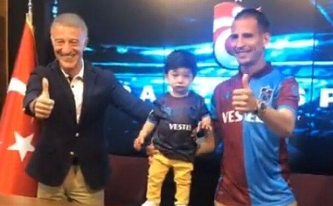 Trabzonspor'da Pereira imzaladı, iki anlaşma daha açıklandı