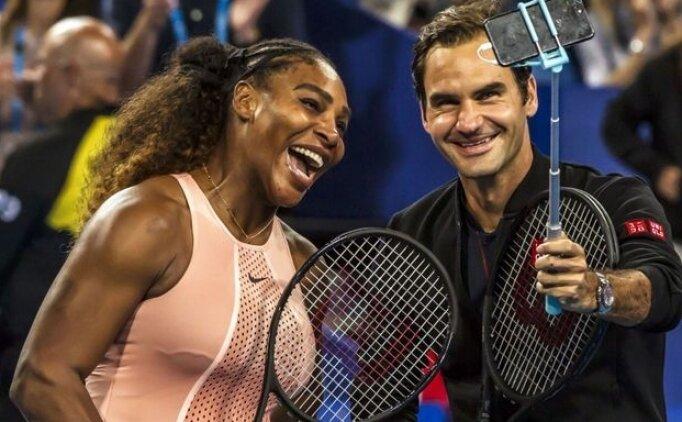 Serena Williams ve Federer 3. turda