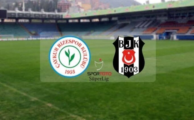 Rizespor Beşiktaş maçı radyo dinle (Süper Lig maçı TRT Radyo 1 DİNLE)