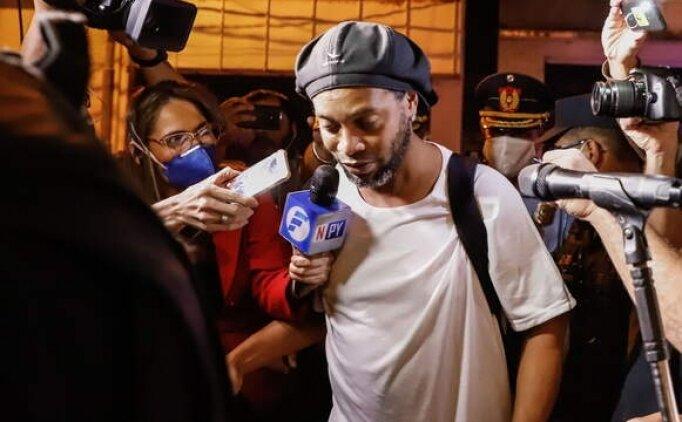 Ronaldinho hapis cezasını tamamlıyor