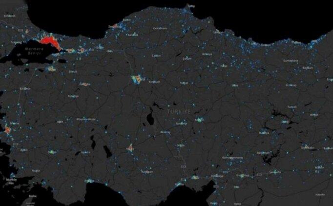 Mersin koronavirüs haritası (dağılım) var mı?