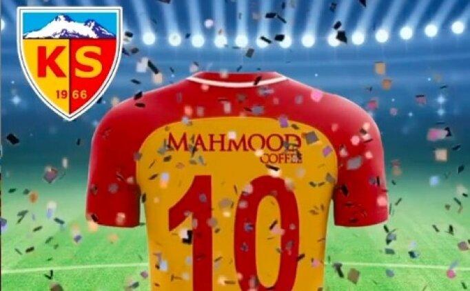 Mahmood Coffee, Kayserispor'a sponsor oldu