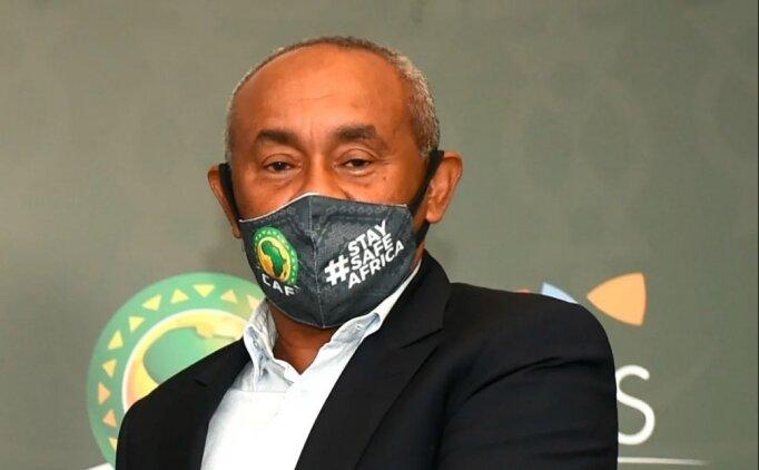 Afrika Futbol Konfederasyonu Başkanı Kovid-19'a yakalandı