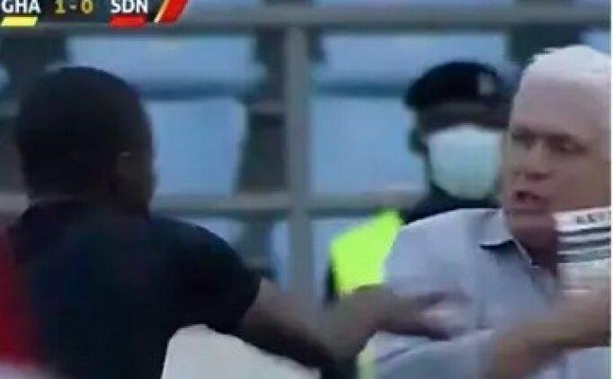 Maça damga vuran an: Hakem teknik direktörü düşürdü!