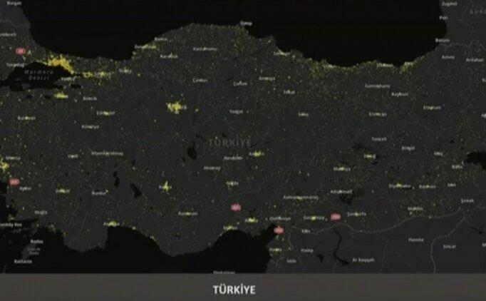 Kayseri koronavirüs haritası (dağılım) var mı?