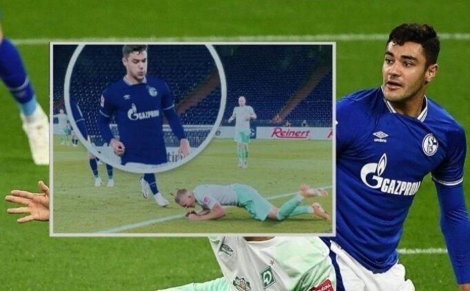 Ozan Kabak'a tükürükten 4 maç ceza