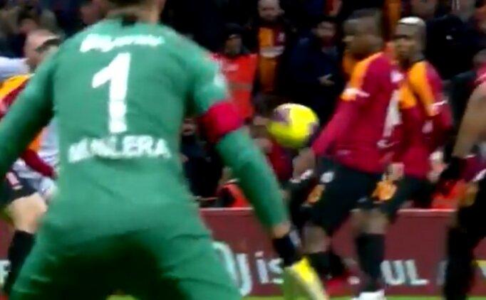 Galatasaray - Malatyaspor maçında 3 tartışmalı an