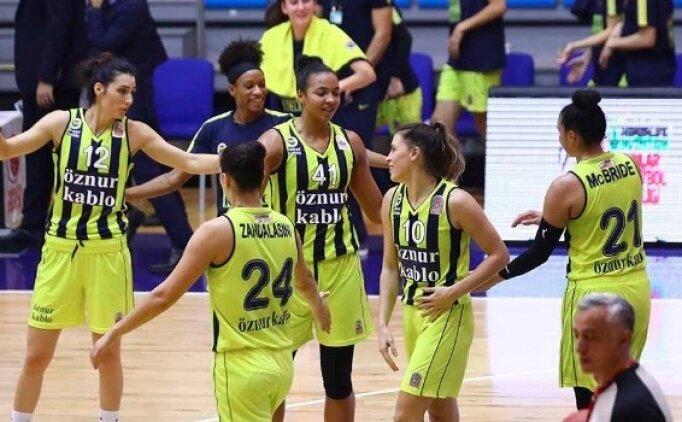 Fenerbahçe Öznur Kablo, kazanmaya devam ediyor