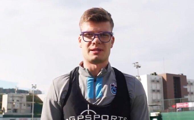 Trabzonsporlu oyuncular 'Epilepsi İçin Bak' kampanyası destek oldu
