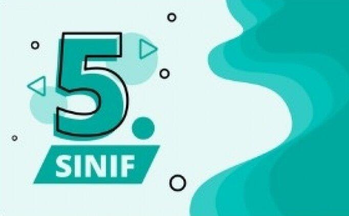 EBA TV 5 Sınıf Ders Tekrarı izle Beşinci Sınıf konu konu ders tekrarları) (06 Kasım Cuma)