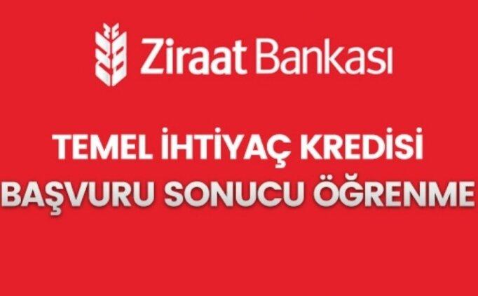 Online Ziraat Bankası kredi başvuru sonucu öğrenme - 1 Haziran 2020