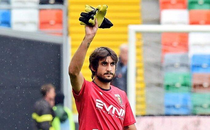 Genoa kalecisi Perin'in Kovid-19 testi pozitif çıktı