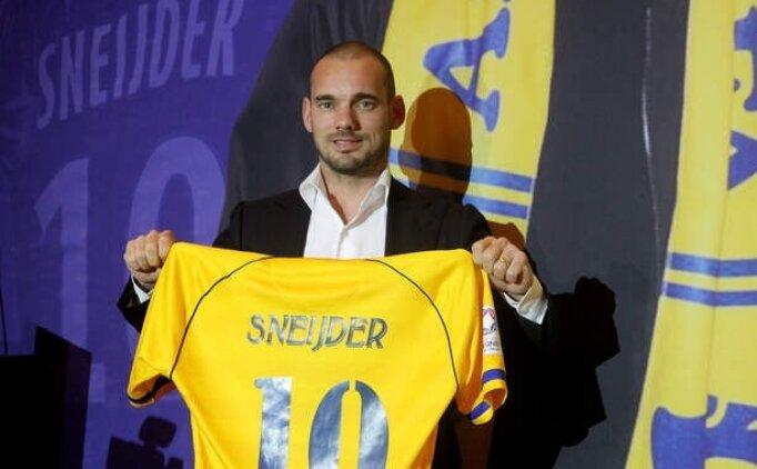 Sneijder, geri dönüş için idmanlara başlıyor