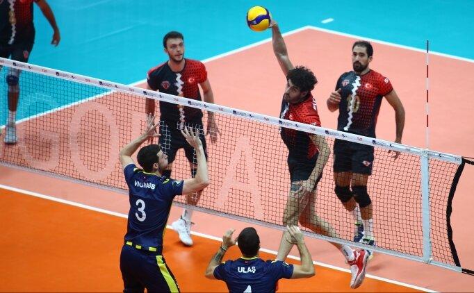 Fenerbahçe, Spor Toto karşısında set alamadı