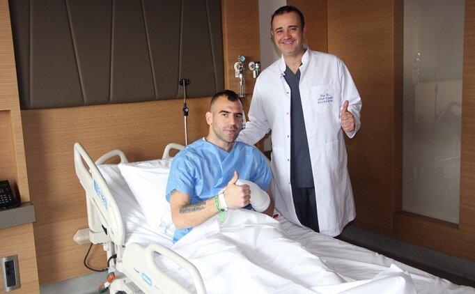 Sivasspor'da Petar Skuletic ameliyat edildi