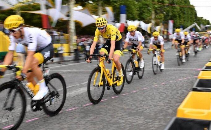 Tour de France'da 20. etabı Tadej Pogacar kazandı