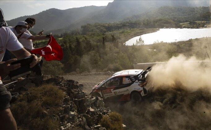 WRC Türkiye Rallisi'nde 2. gün tamamlandı
