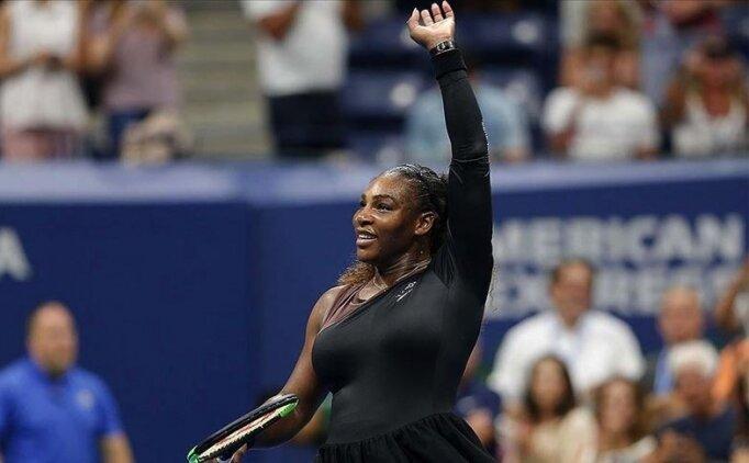 Serena Williams ABD Açık'ta yarı finalde