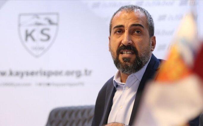 Kayserispor Asbaşkanı Mustafa Tokgöz: 'Kayserispor camiası çifte bayram yaşıyor'
