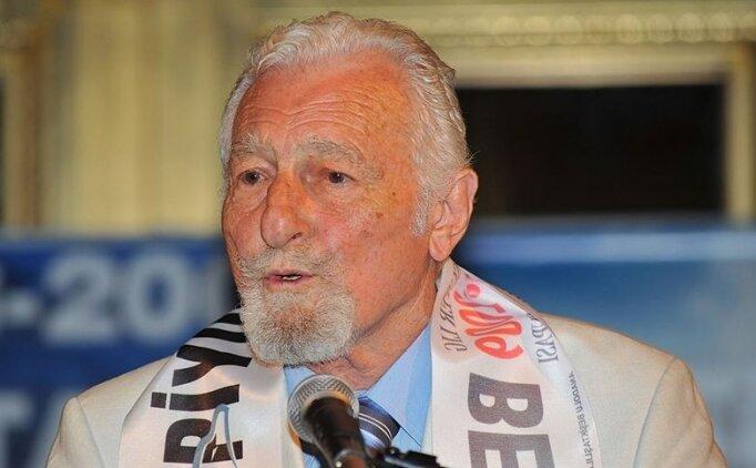 Beşiktaş'ın efsane başkanı Süleyman Seba anılacak