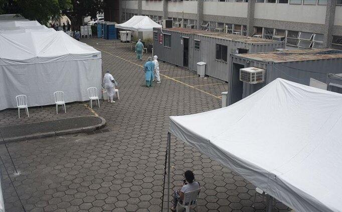 Brezilya'da Kovid-19'dan ölen 60 yaş altı kişilerin oranı yüzde 31'e çıktı