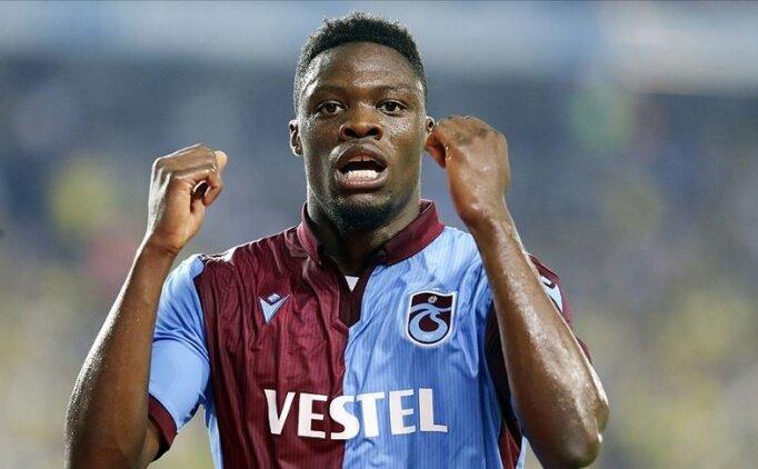 Trabzonspor'da Ekuban'ın testi pozitif