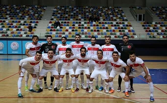 Futsal Milli Takımı'nın Yunanistan için aday kadrosu açıklandı