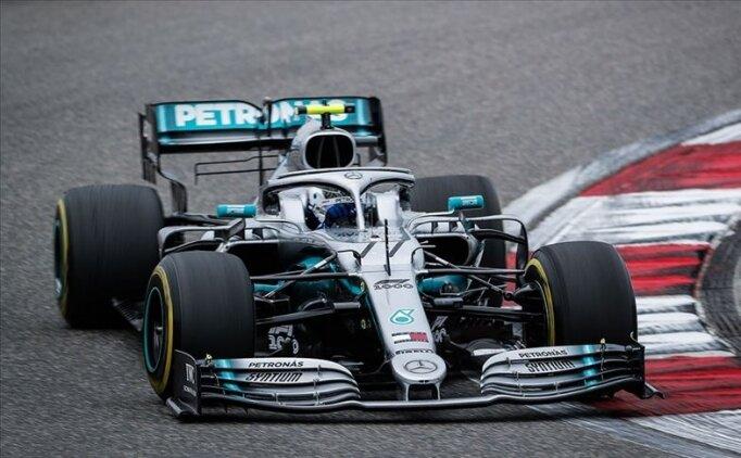 F1 Emilia-Romagna GP'sinde pole pozisyonu Bottas'ın