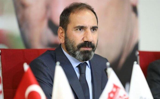 Sivasspor Başkanı Otyakmaz ve Sivas Valisi'nden TFF'ye ziyaret