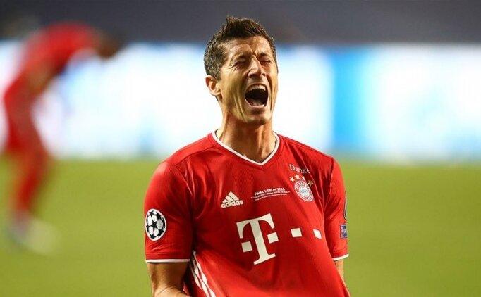 UEFA'nın en iyi oyuncu ödülünü Robert Lewandowki kazandı