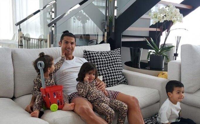 Cristiano Ronaldo'dan koronavirüse karşı 'evde kal' çağrısı