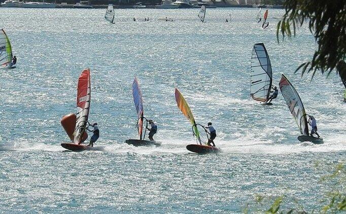 Rüzgar sörfünde şampiyonluklara 'pandemi' molası verdi