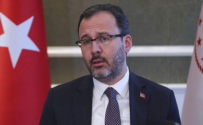 Bakan Kasapoğlu, Kovid-19 testinin pozitif çıktığını açıkladı