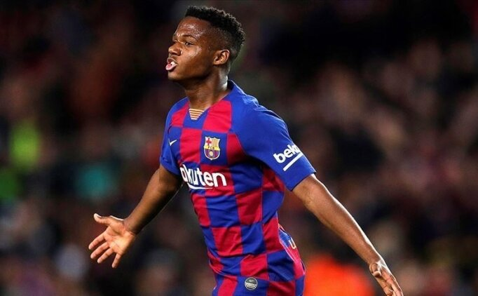 Barcelona, Ansu Fati'ye gelen 100 milyonluk teklifi geri çevirdi