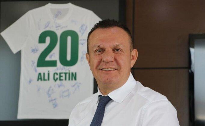 Denizlispor Başkanı Ali Çetin: 'Loca sayısını arttırmak istiyoruz'