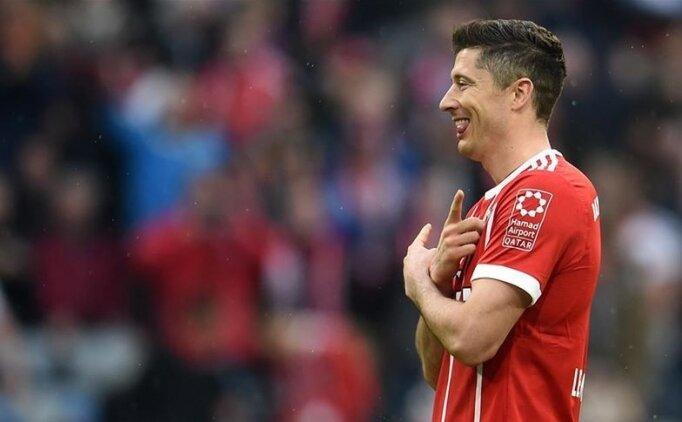 Lewandowski, Bundesliga'da 'sezonun futbolcusu' seçildi