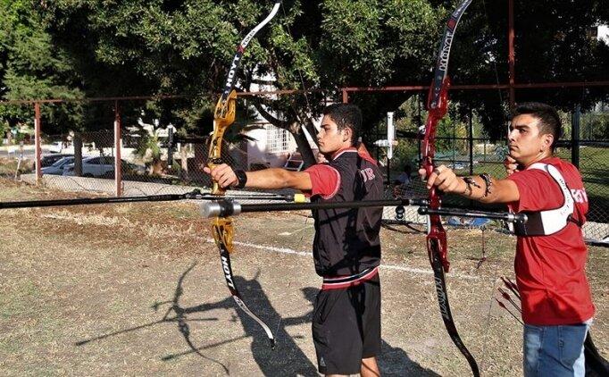 Milli okçu Ali Aydın'ın hedefi önce kota, sonra olimpiyat madalyası