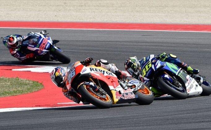 MotoGP Aragon Grand Prix'sini Rins kazandı