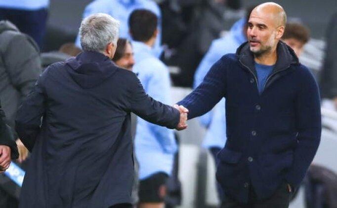 Mourinho ve Guardiola'dan maç sonu